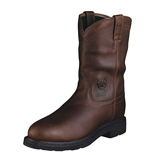(ARIAT Men's Sierra Waterproof Steel Toe Work Boot Sunshine Size 10 D/Medium Us)