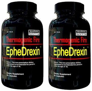 EpheDrexin - Extreme feu thermogénique Fat Burning, 90 caps (2 bouteilles)