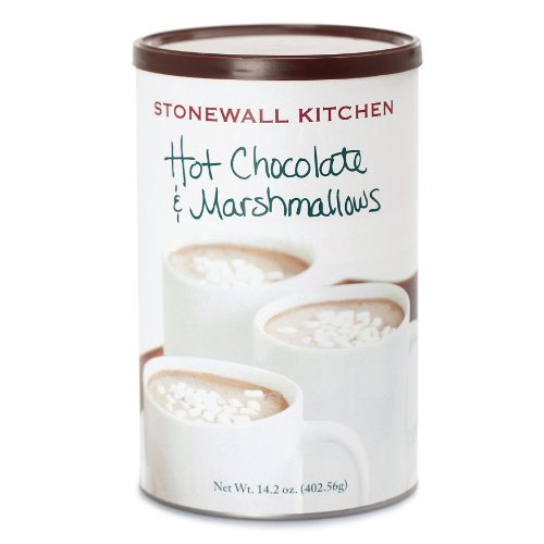 Stonewall Kitchen Hot Chocolate and Marshmallows Mix, 14.2 Ounce Can (Drink Stonewall)
