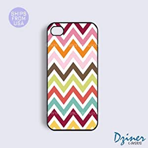 iPhone 5 5s Case - Multi Colorful Chevron iPhone Cover