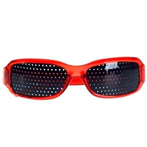 150 opinioni per FreshGadgetz Occhiali Foro stenopeico nero rosso blu marrone miglioramento vista