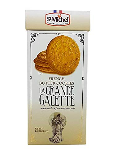 St Michel La Grande Galette French Butter Cookies Biscuits from France 1.3 LB (Le Chef Patissier Grande Galette French Butter Cookies)