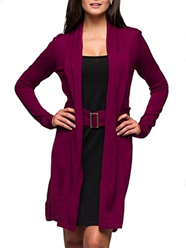 Kissvivi Women Long Sleeve Business Dress Fake Two Piece Casual Work Dress Cardigan
