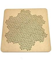 Rompecabezas 2d Puzzle Fractal