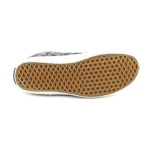 Vans Mens Bedford Low Top Stringate Moda Sneakers Palm Camo Grigio Bianco