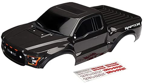 Amazon Com Traxxas 5826a 1 10 Scale 2017 Ford Raptor Body Black Toys Games