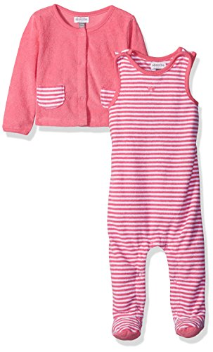 ABSORBA Baby Girls Terry Overall Set