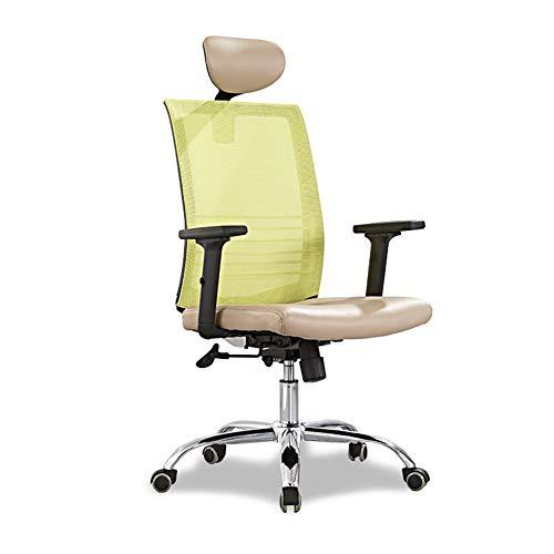 Silla de malla para personal, silla para computadora en el hogar Silla de oficina Silla giratoria elevable Silla de oficina