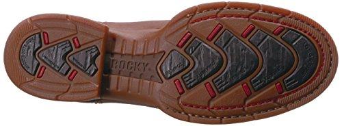 Rocky Mens Rkw0188 Westernlaars Bruin En Donkerbruin