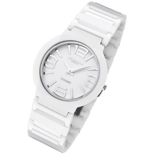Cirros Luxury Unisex White Ceramic Watch Model 2263GW