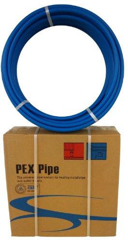 x blue pex tubing pipe