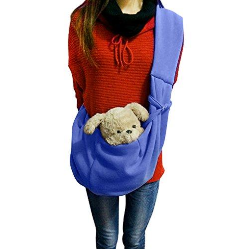 dog cat sling carrier bag
