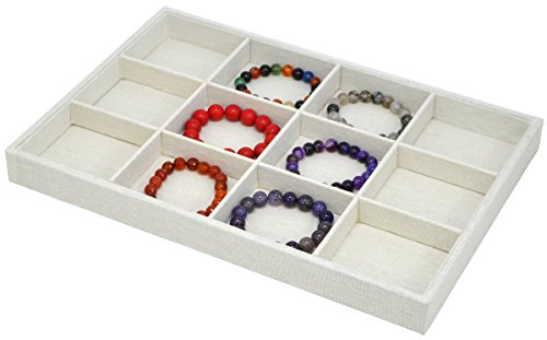 Stackable Jewelry Showcase Display Organizer