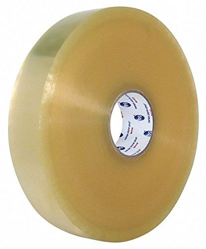 Polypropylene Carton Sealing Tape, Hot Melt Resin Adhesive, 48mm X 1371m, 6 PK by IPG