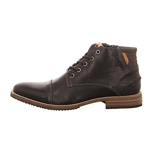 BULLBOXER 715K55843A2495 - Zapatos de cordones de Piel para hombre negro