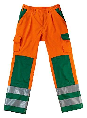 Mascot 07179860-14888-82C50''Olinda'' Safety Trousers, Orange/Anthracite, L82cm/C50
