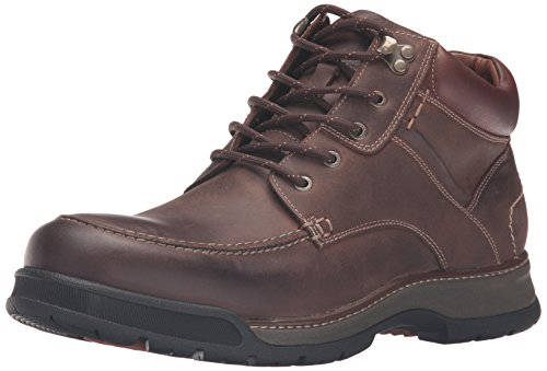 Johnston Murphy Boots (Johnston & Murphy Men's Thompson Moc Toe Winter Boot, Tan Oiled Waterproof Full Grain, 10 D US)