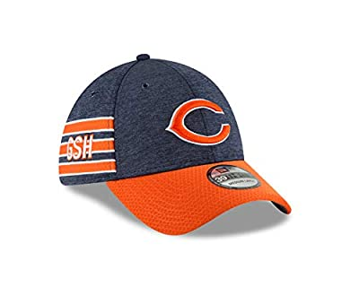 New Era Chicago Bears Official Sideline Home 39THIRTY Stretch Fit Cap