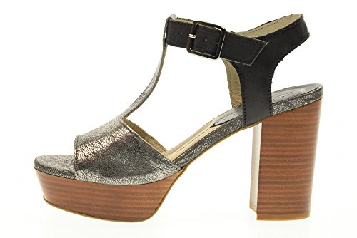 Hauts Gris À Fabbrica Sandales 1urban100 Dei Chaussures Femmes Grey Colli Talons wZpPO0qAZ