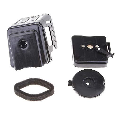 perfk Air Filter Box for 33cc 43cc 47cc 49cc Mini Pocket Dirt Bike Scoote: