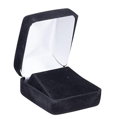 Allure Echelon Earring Box, Black - Black Earring Box