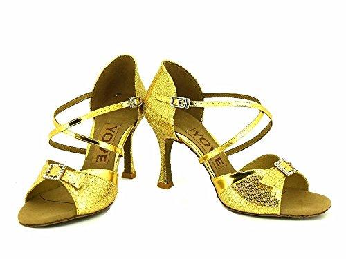 de de danse latine danse Chaussures pour gold YFF Chaussures femmes wUqAXw7