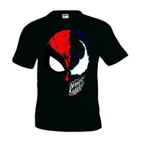 33aa6b026 Mx Games Camiseta Spiderman - Venon
