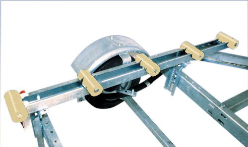 Tie Down Engineering Silver Standard 86118 Roller Bunk 5' Galvanized ()