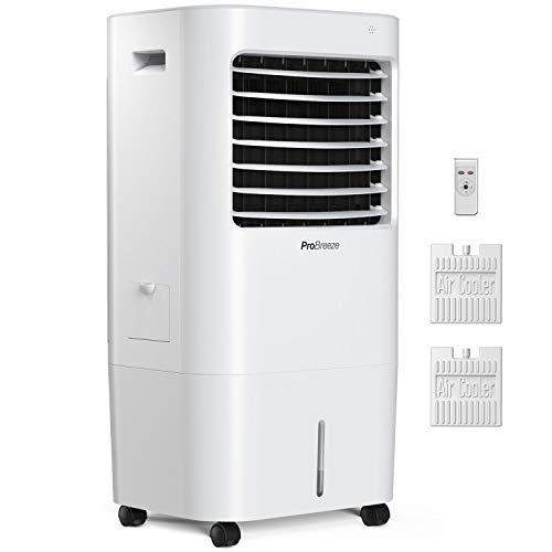 🥇 Pro Breeze Climatizador Evaporativo Portátil 10L con 4 Modos de Funcionamiento