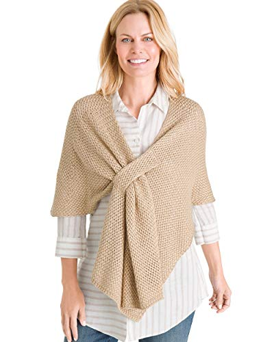 (Chico's Women's Basketweave Wrap Size (S/M))