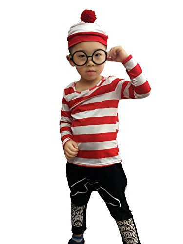 Wally World Hat (NoveltyBoy Wally World Movie Vacation Griswold Child Wenda Costume Shirt Hat Glasses)