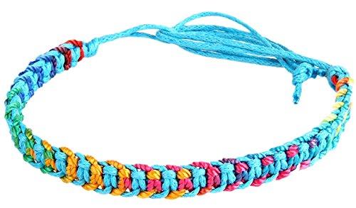 Golastartery Multilayer Handmade Drawstring Bracelet
