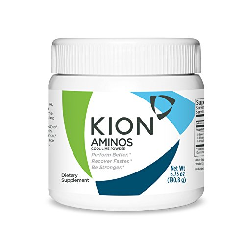 Kion Aminos Essential Amino Acids Powder Supplement | The Building Blocks for Muscle Recovery, Reduced Cravings, Better Cognition, Immunity, and More | 30 Servings