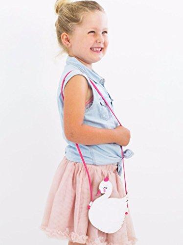 A Little Lovely Company Tasche/Brustbeutel/Umhängetasche für Kinder Schwan