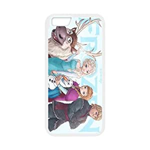 """frozen,anna and elsa,snowman frozen forever series protective cover For Apple Iphone 6,4.7"""" screen Cases SHIKAI53703"""
