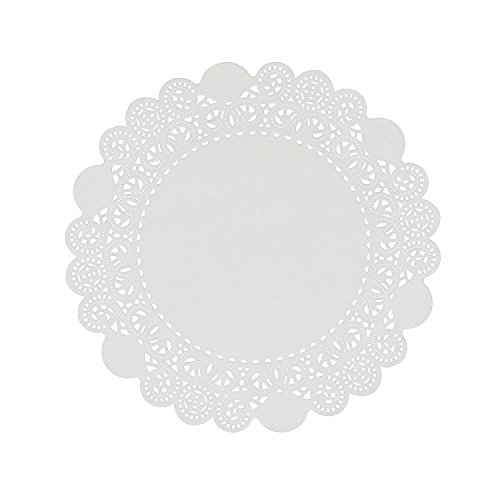 "Royal 10"" Disposable Paper Lace Doilies, Package of 500"