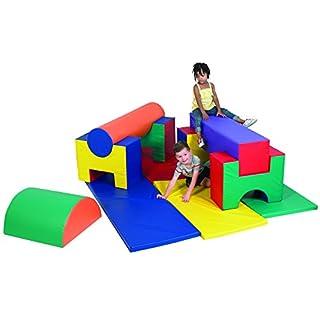 Children's Factory Jr. Activity Gym - 11 Pc Set Classroom Furniture (CF362-550)