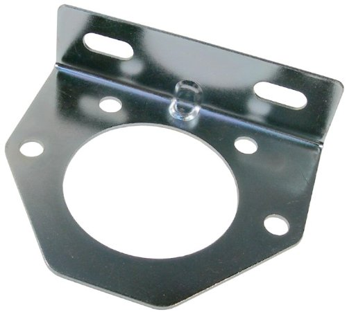 UPC 035704207028, Pico 0702A Metal Trailer Connector Bracket for 7 Pole Connector 20 per Package