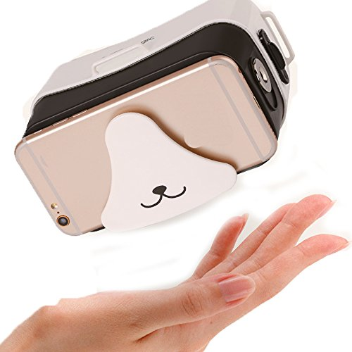 C360 3D VR Glasses,3D VR Virtual Reality DIY Glasses For 3D Movies and Games Compatible with Android & Apple