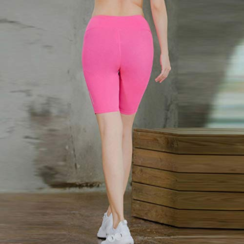 Women's Fitness Yoga Pants - Reflective Strip Night Running Training Five-Minute,2019 New by SUNSEE WOMEN'S CLOTHES PROMOTION (Image #2)