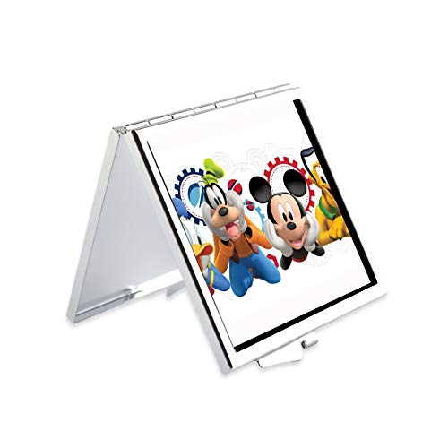 DISNEY COLLECTION Makeup Mirror for Women Girls Cartoon Mickey Mouse Clipart Clubhouse -