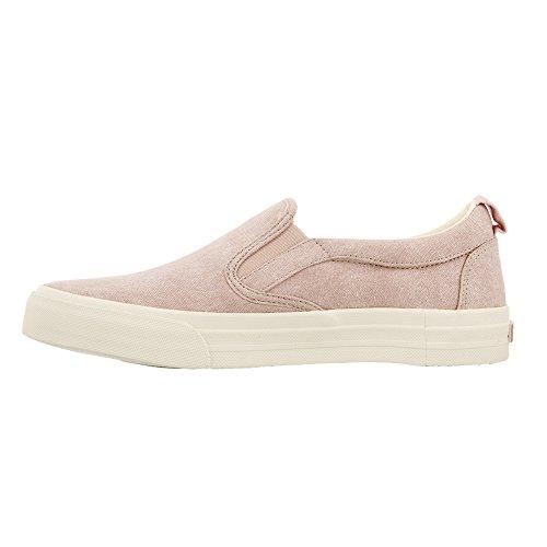 Footwear Wash Soul Pink On Slip Canvas Taos Women's Rubber 4qwdA7A