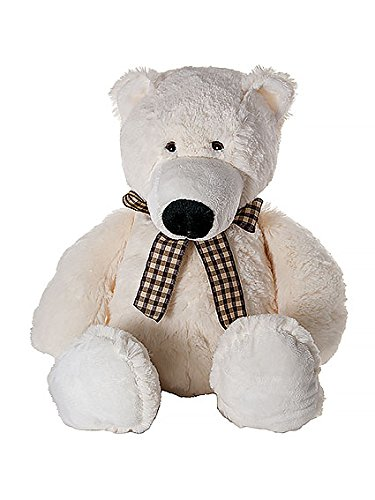 Mousehouse Gifts Very Cute Stuffed Animal Plush Polar Bear Teddy Soft Toy for Girls Boys 16 inch