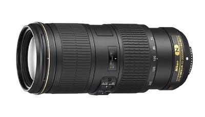 Nikon 70-200mm f/4G ED VR Nikkor Zoom Lens by Nikon Cameras