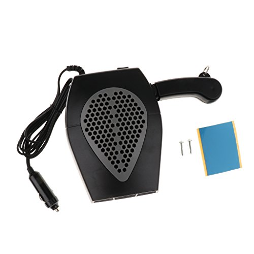 Dolity 2 in 1 12V Car Truck Heater Hot Cool Fan Window Demister Defroster - Black by Dolity (Image #8)