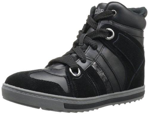 Skechers KicksTekkies - Zapatillas de cuero mujer negro - Schwarz (BLK)
