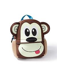 Cosimo 9 mochilas para ninos de animales, bolsa de escuela de mono, monkey school bag