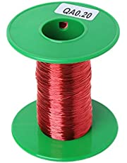 HELYZQ 100m QA Polyurethane Enameled Copper Wire 0.2mm Welding Wires Coil Winding