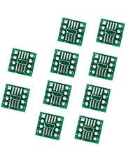 Bestol 10pcs SOIC-8 to DIP-8 Narrow PCB SMD Adapter to DIP SOP8