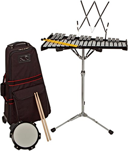 Rolling Drum Kit - Sound Percussion Labs Bell Kit w/ Rolling Cart 2-1/2 OCTAVE